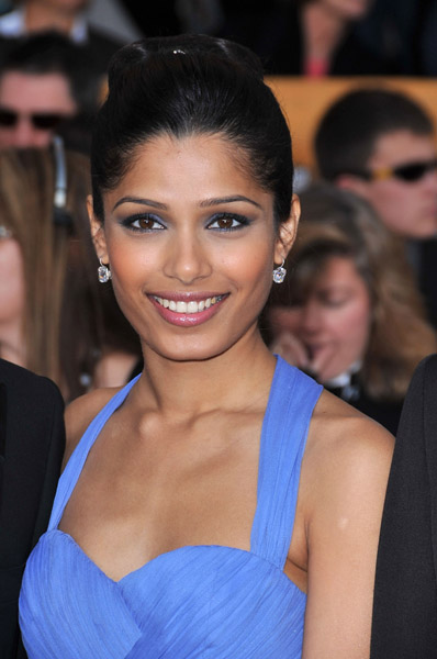 Freida Pinto in Marchesa