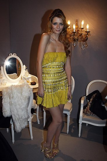 Mischa Barton at Christian Dior