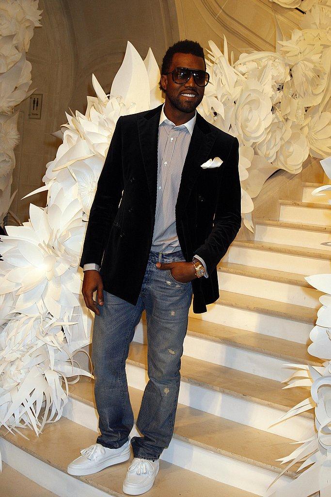 Kanye West at Chanel