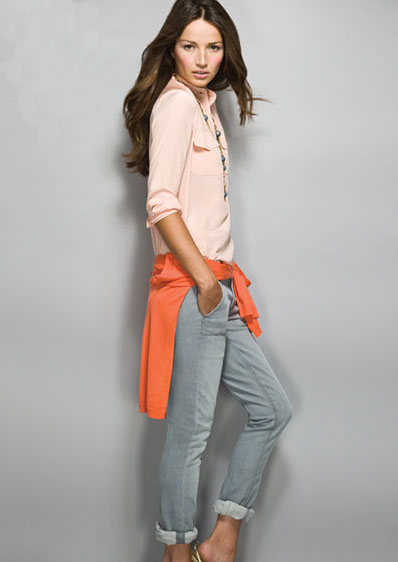 Sneak Peek! J.Crew Spring '09 Look Book
