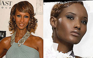 Model Clones: Fatima from America's Next Top Model + Iman