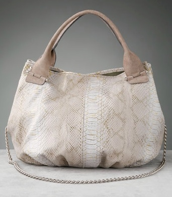 ginette etc... Royal Python Bucket Bag