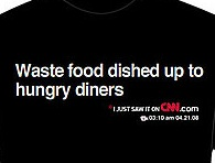 Would You Wear a CNN Headline on Your Shirt?