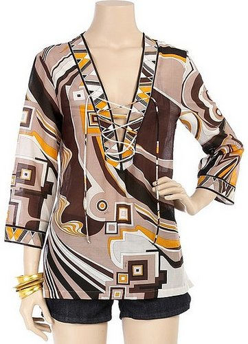 Emilio Pucci Cosmo Print Kaftan: Love It or Hate It?