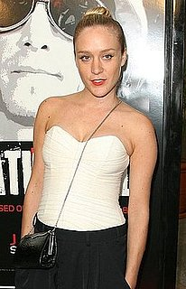 Chloe Sevigny in a Cross Body Evening Bag