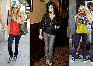 Celebrities Tuck Their Jeans into Gladiator Sandals