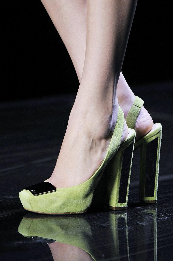 Christian Dior Lime-Green Gems