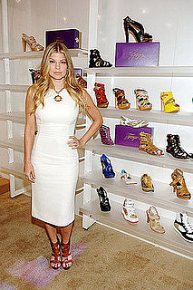 Behind the Seams: Fergie's Shoe Debut in Vegas