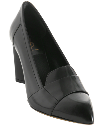 The Look For Less: Yves Saint Laurent Pointed Toe Loafer Pumps
