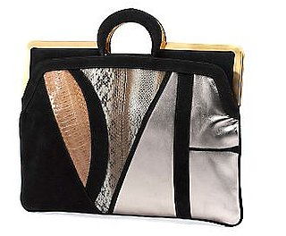 Diane von Furstenberg Logo Briefcase Clutch: Love It or Hate It?