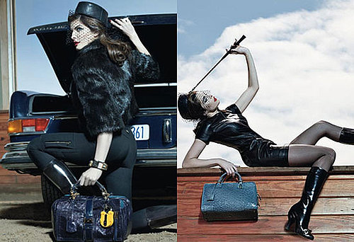 Stephanie Seymour in Loewe Fall '08 ad campaign