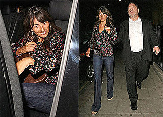 Penelope Cruz Has Dinner with Harvey Weinstein in London Wearing Chloe's Mini Star Print Top