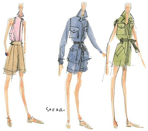 Fab Flash: Issac Mizrahi For Liz Claiborne Sketches Revealed
