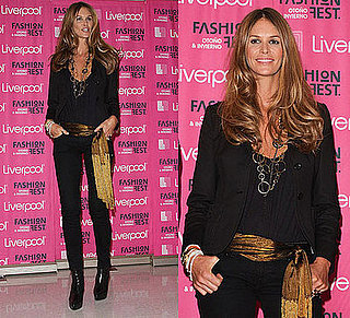 Elle Macpherson Attends Liverpool Fashion Fest Autumn/Winter 2008