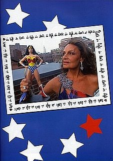 Diane von Furstenberg Creates Superhero Comic Books