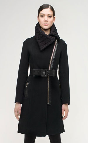 Fabworthy: Mackage Hope Wool Blend Coat