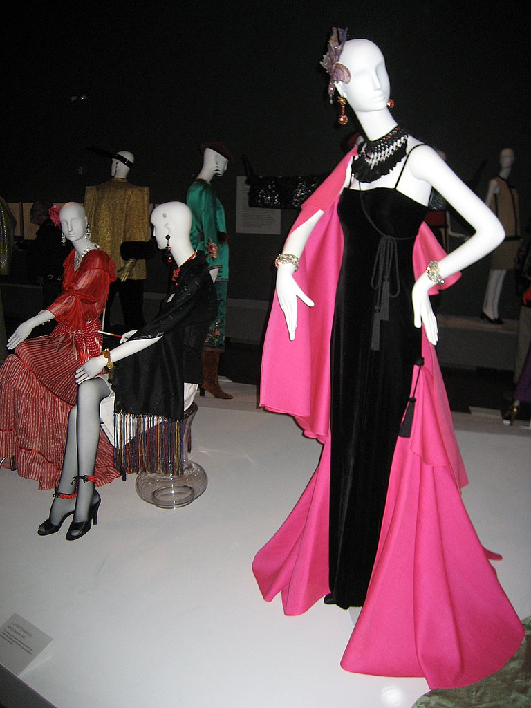 Yves Saint Laurent Exhibit at the De Young Museum San Francisco