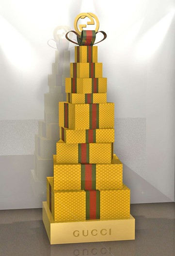 Simply Fab: Designers Dress Christmas Trees For Charity