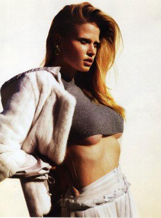 Lara Stone in '08