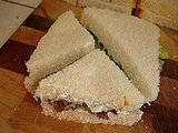 Benedictine Cheese Sandwiches
