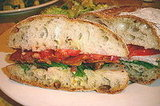 Pancetta, Lettuce, and Tomato Sandwich Recipe From 'Ino