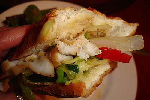 Fish and Farm Baguette