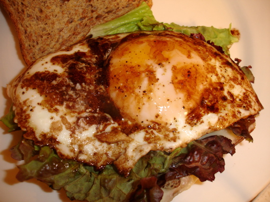 Open-Face Balsamic Egg