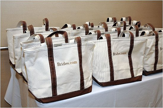The adorable gift bags we received for attending the luncheon!