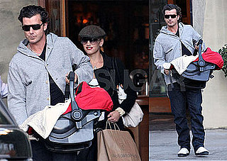 Photos of Gwen Stefani With Gavin Rossdale in LA At Spago for Lunch with Zuma