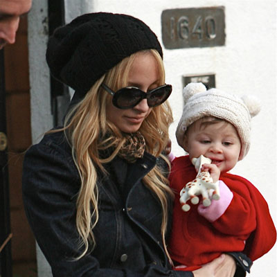 Favorite New Mom: Nicole Richie