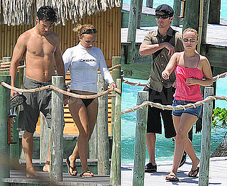 Photos of Hayden Panettiere and Milo Ventimiglia Vacationing in Bora Bora