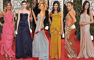 Photos of Cameron Diaz, Kate Winslet, Angelina Jolie, Anne Hathaway on the Golden Globes Red Carpet