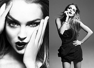 Photos of Lindsay Lohan in Interview Magazine, Quotes From Her Interview with Lauren Hutton
