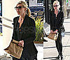 Photos of Kirsten Dunst Leaving Lunch in LA