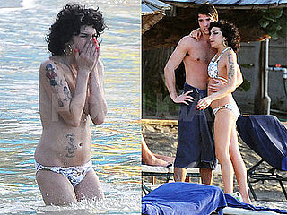 Photos of Amy Winehouse Topless and In Bikinis in St. Lucia