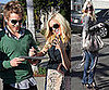 Photos of Heidi Montag With Chanel Nails and Spencer Pratt in LA, Spencer Didn't Know You Had to Legalize Wedding