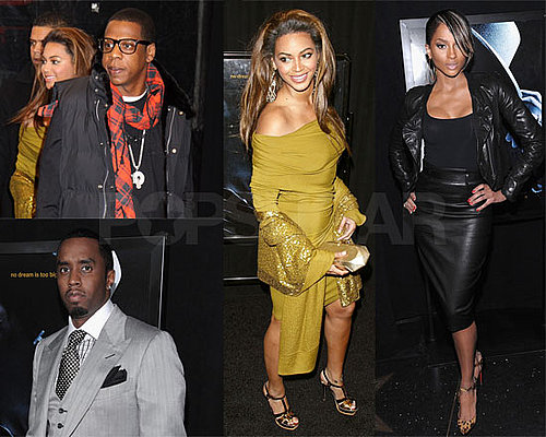 Photos of Beyonce Knowles, Jay-Z, Diddy, at Notorious B.I.G. Movie Premiere