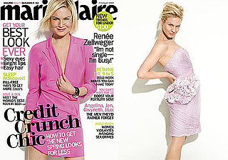 Photos of Renee Zellweger in Marie Claire Magazine