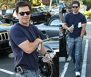 Photos of Mark Wahlberg in LA