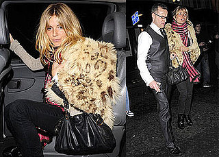 Photos of Drunk Sienna Miller, Who Is Out of Nottingham, Leaving the Groucho Club with Cillian Murphy
