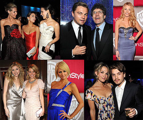 Photos of Heidi Klum, Kate Beckinsale, Leonardo DiCaprio, Blake Lively, at the InStyle After Party For the 2009 Golden Globes