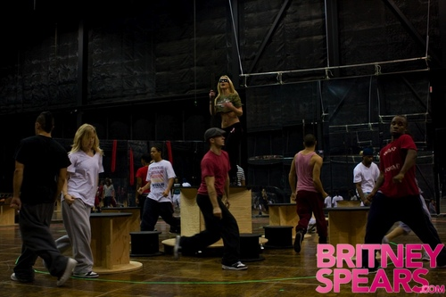 Britney's Getting Ready For Her Tour