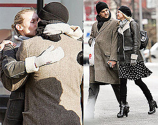 Photos of Joshua Jackson and Diane Kruger in NYC