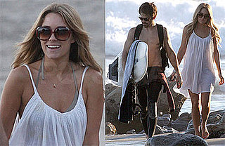 Photos of Lauren Conrad and Kyle Howard on the Beach in Malibu
