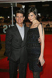 Tom Cruise and Katie Holmes at Valkyrie London Premiere