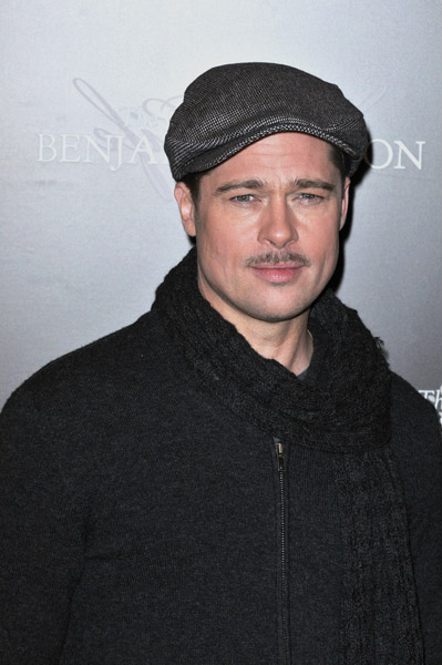 Brad Pitt at Paris Benjamin Button Photo Call