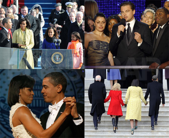 Star-Studded Inauguration Highlights