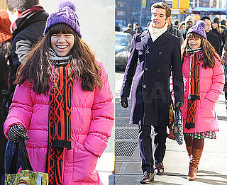 Photos of America Ferrera and Michael Urie on the Set of Ugly Betty