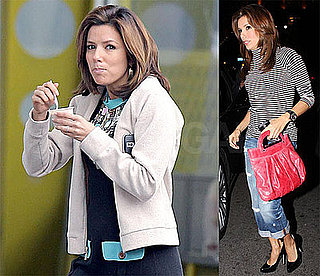 Photos of Eva Longoria at Beso, Filming Desperate Housewives