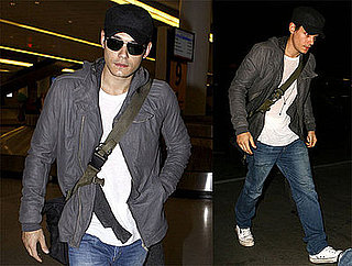 Photos of John Mayer, Who's Planning a Getaway With Jennifer Aniston for Valentine's Day, at JFK